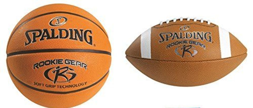 Spalding Rookie Gear Youth Balls and Pump