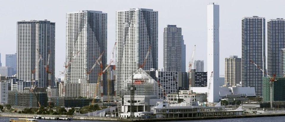 High-rise condos in Tokyo