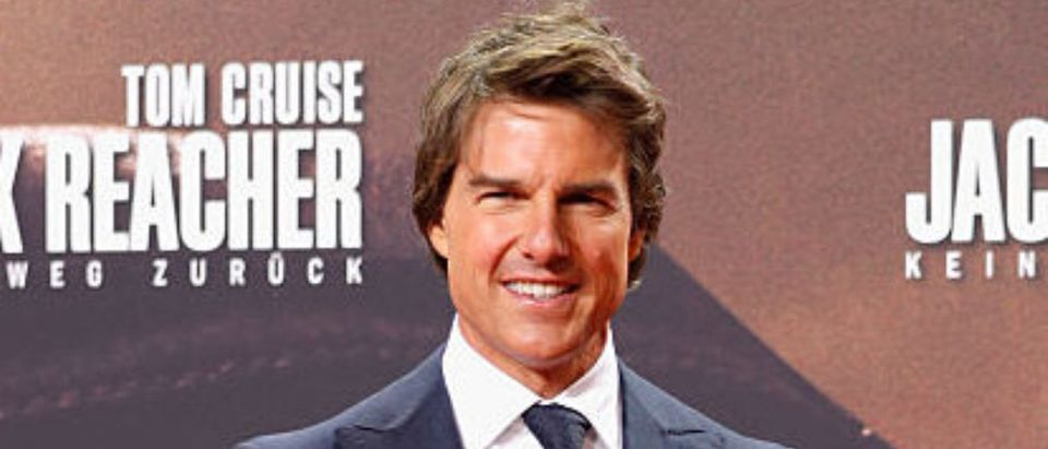 Actor Tom Cruise attends the 'Jack Reacher: Never Go Back' Berlin Premiere at CineStar Sony Center Potsdamer Platz on October 21, 2016 in Berlin, Germany. (Photo by Andreas Rentz/Getty Images for Paramount Pictures)