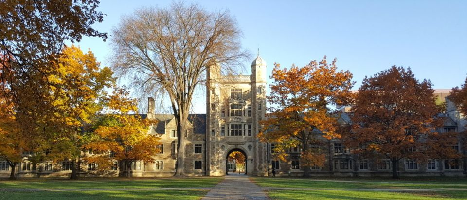 Here is the University of Michigan, Ann Arbor. (Shutterstock/Dieon Roger)