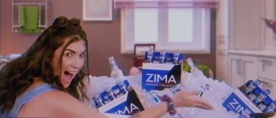 ZIMA YouTube screensho/ Zima Malt Beverage