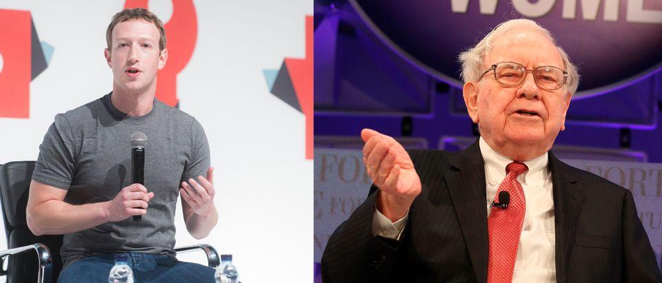 Facebook founder and CEO Mark Zuckerberg is richer than Warren Buffett now. (Images: Shutterstock.com)