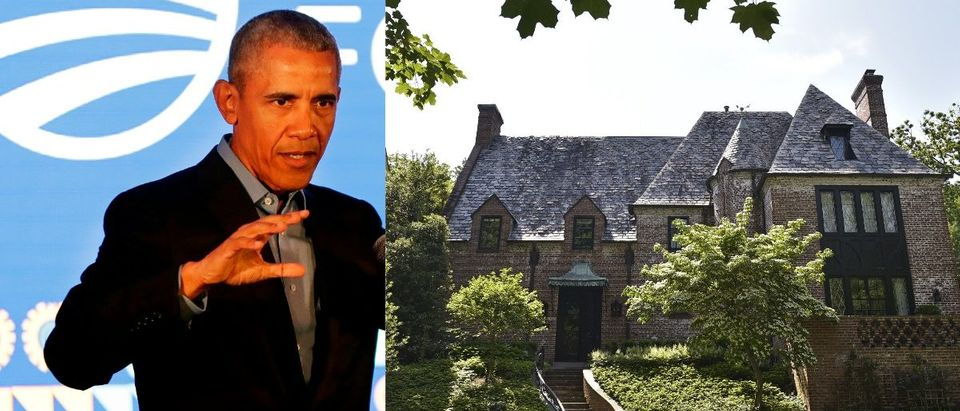 A house in the Kalorama neighbourhood in Washington, DC is seen on May 26, 2016 where US President Barack Obama will reportedly live after he leaves office. / AFP / Mandel Ngan (Photo credit should read MANDEL NGAN/AFP/Getty Images)Former US President Barack Obama speaks during a town hall meeting for the Obama Foundation at the African Leadership Academy in Johannesburg on July 18, 2018. (Photo by Themba Hadebe / POOL / AFP) (Photo credit should read THEMBA HADEBE/AFP/Getty Images)
