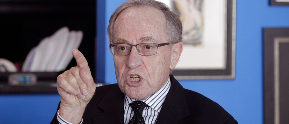 Attorney and law professor Alan Dershowitz discusses allegations of sex with an underage girl levelled against him, during an interview at his home in Miami Beach