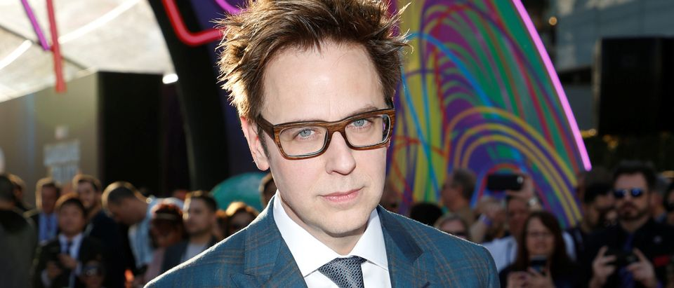 "Writer and director James Gunn poses at the world premiere of Marvel Studios' ""Guardians of the Galaxy Vol. 2."" in Hollywood, California, U.S. Wednesday, April 19, 2017 REUTERS/Danny Moloshok"
