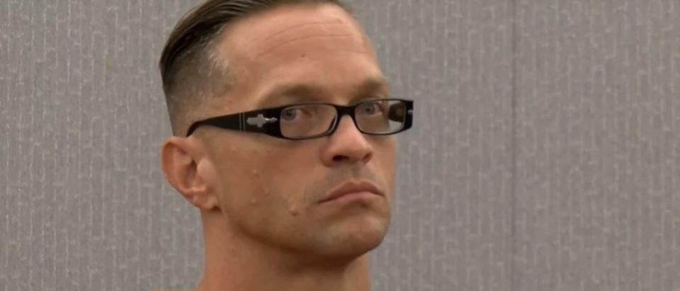 Raymond Scott Dozier in court. YouTube screenshot