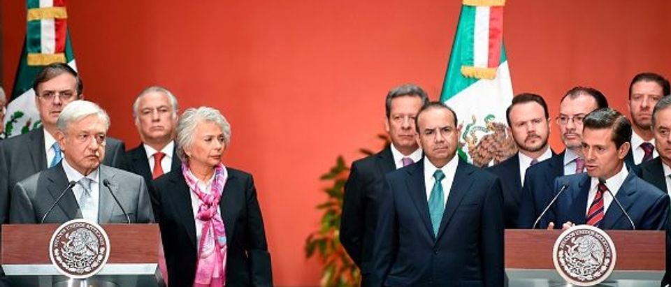 MEXICO-POLITICS-LOPEZ OBRADOR-CABINET