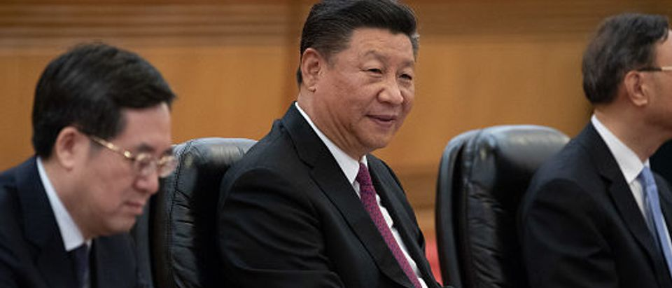 President of Botswana Mokgweetsi Masisi in China
