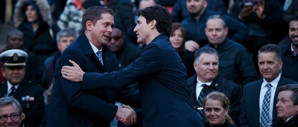 Canadian Prime Minister Justin Trudeau Attends Vigil For Toronto Van Attack