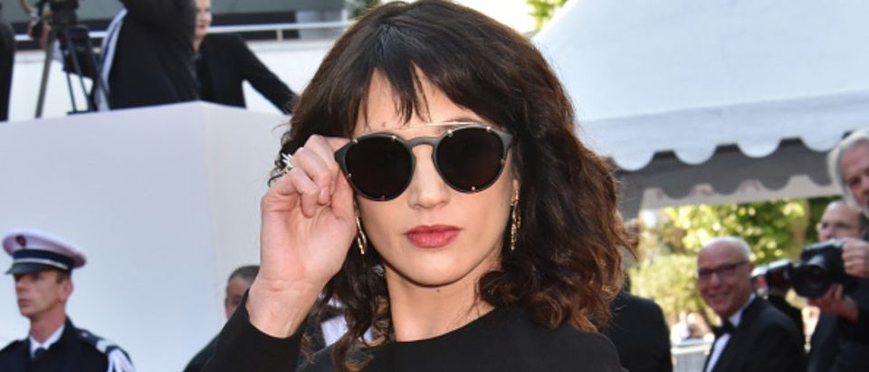 Asia Argento attends the Closing Ceremony & screening of 'The Man Who Killed Don Quixote' during the 71st annual Cannes Film Festival at Palais des Festivals on May May 19, 2018 in Cannes, France. (Photo by Foc Kan/FilmMagic)