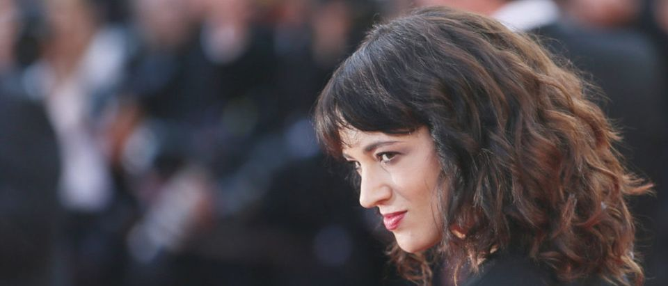 Asia Argento attends Closing Ceremony during the 71st Cannes Film Festival at Palais des Festivals on May 19, 2018 in Cannes, France. (Shutterstock/Denis Makarenko)