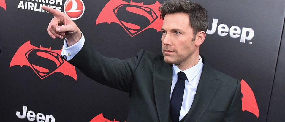 "Actor Ben Affleck attends The ""Batman V Superman: Dawn Of Justice"" New York Premiere at Radio City Music Hall on March 20, 2016 in New York City. (Photo by Mike Coppola/Getty Images)"