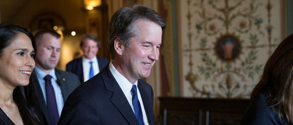 U.S. Supreme Court nominee Brett Kavanaugh meets with U.S. Senators in Washington