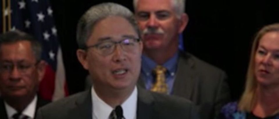 Pictured is Justice Department official Bruce Ohr. (YouTube screen capture)