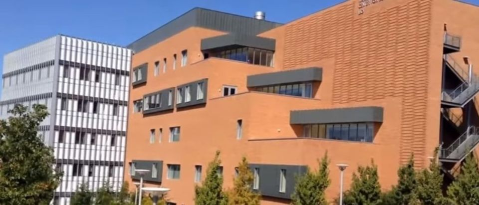 Featured are buildings at Cal Poly. (Photo Credit: YouTube/Andrew Wong)