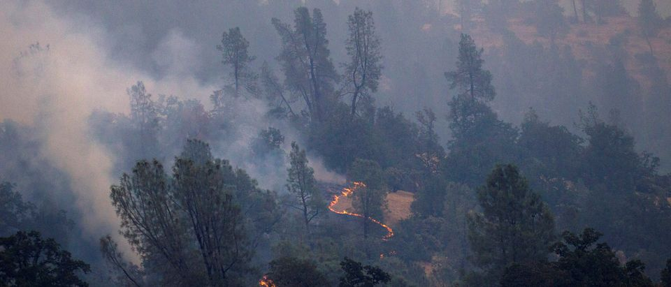 The Carr Fire burns west of Redding