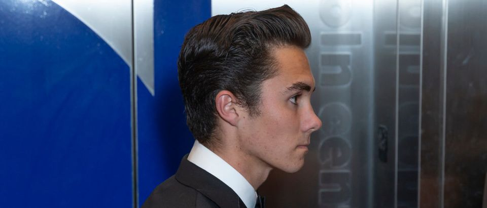 David Hogg attends 2018 Time 100 Gala at Jazz at Lincoln Center. ShutterStock Lev Radin