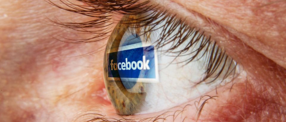 Facebook eye reflection