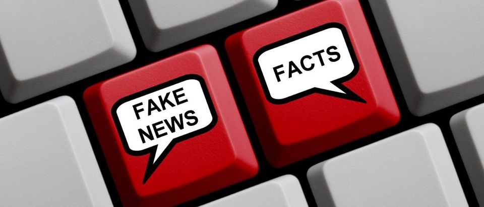 "The Newseum removed ""fake news"" shirts. SHUTTERSTOCK/ keport"