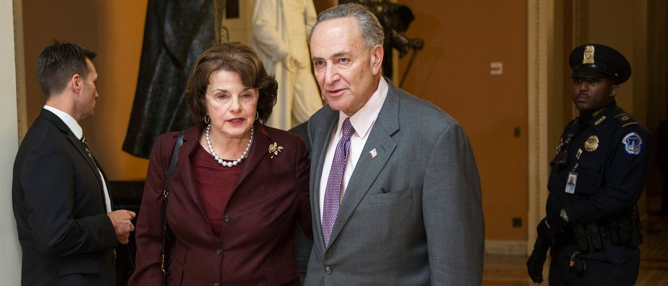 Feinstein Schumer - Getty