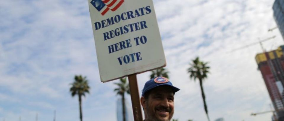 Voting Precinct In California