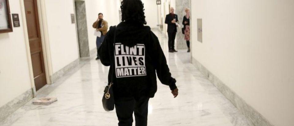 Woman With Flint Shirt