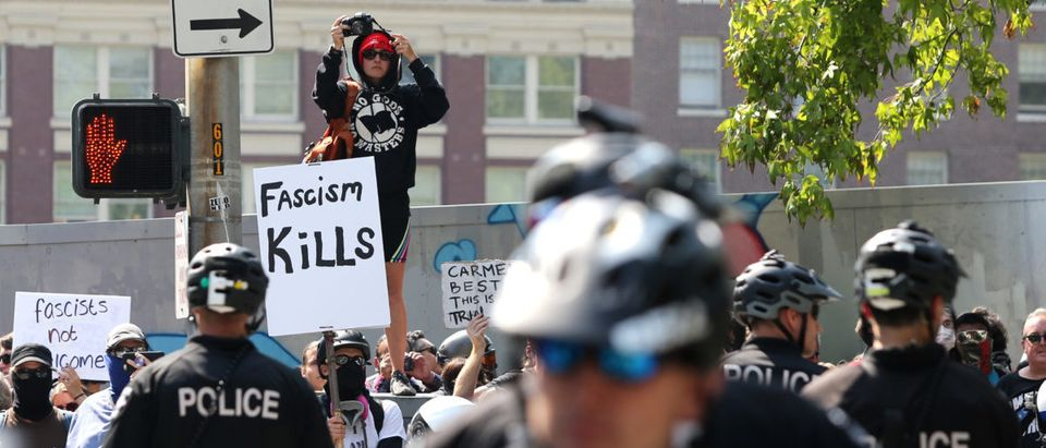 Alt Right Group Patriot Prayer Hold Rally In Seattle