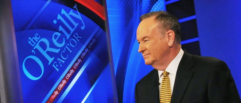 "New York City Mayor Michael Bloomberg Visits FOX's ""The O'Reilly Factor"""