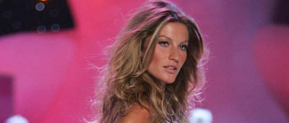Gisele Bundchen walks the runway at The Victoria's Secret Fashion Show at the 69th Regiment Armory November 9, 2005 in New York City. (Photo: Getty Images)