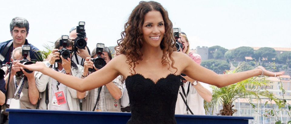 US actress Halle Berry poses during a ph