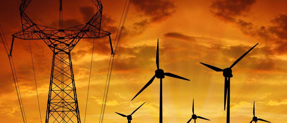 Wind turbines. Shutterstock