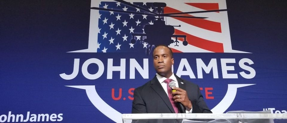John James Wins Michigan GOP Primary (Photo Obtained By TheDCNF)