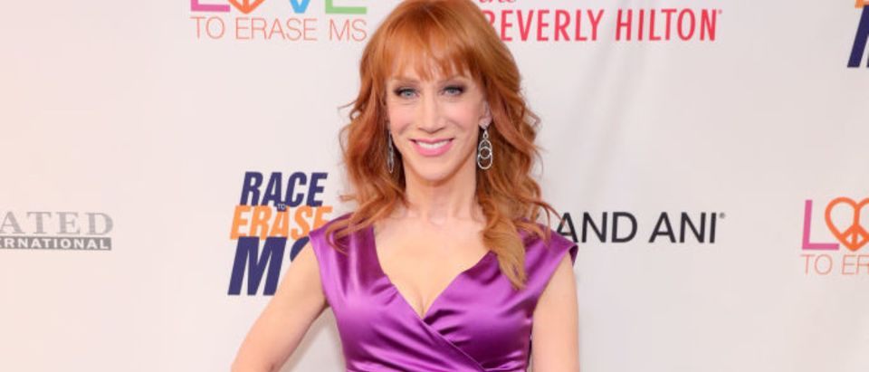 Comedian Kathy Griffin attends the 24th Annual Race To Erase MS Gala at The Beverly Hilton Hotel on May 5, 2017 in Beverly Hills, California. (Photo by Neilson Barnard/Getty Images for Race To Erase MS)