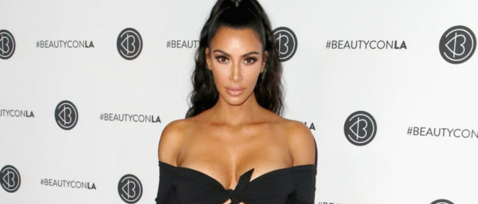 Kim Kardashian West attends the Beautycon Festival LA 2018 at the Los Angeles Convention Center on July 15, 2018 in Los Angeles, California. (Photo by David Livingston/Getty Images)