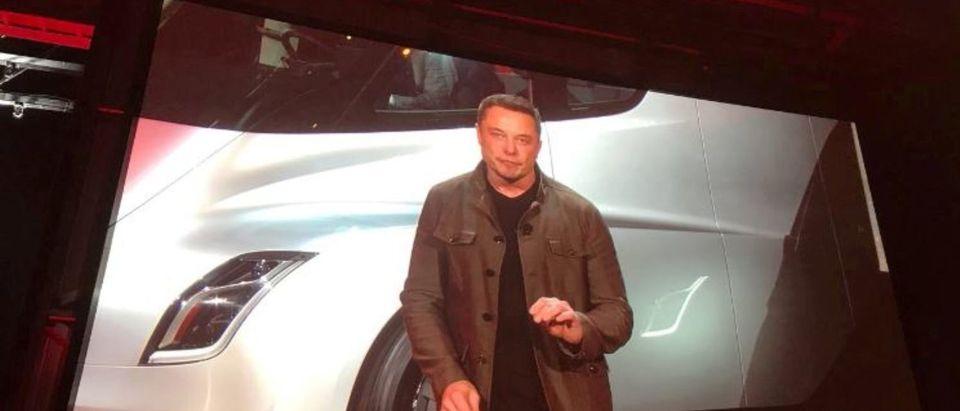 Musk Reveals Semi