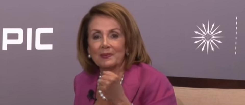 Nancy Pelisi talks coal, then slams West Virginia (screengrab)