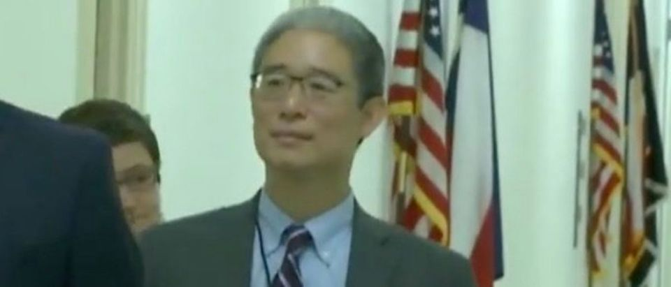Bruce Ohr testified on Capitol Hill on Aug. 28, 2018. (Youtube screen grab/Fox News)