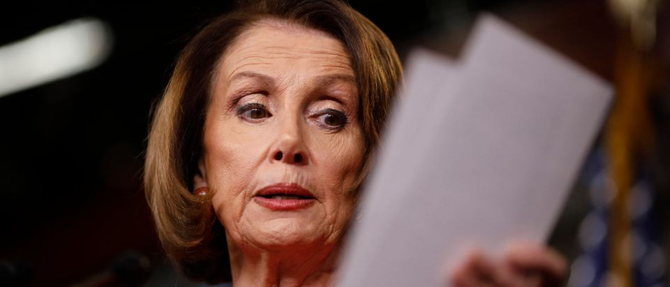 House Democratic Leader Nancy Pelosi And House Dems Hold News Conference On Election Security