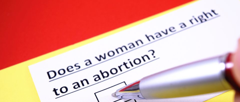 Right to abortion question