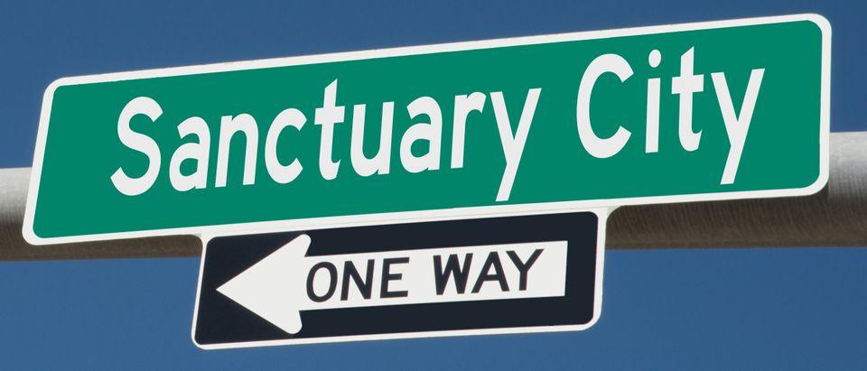 Sanctuary City sign