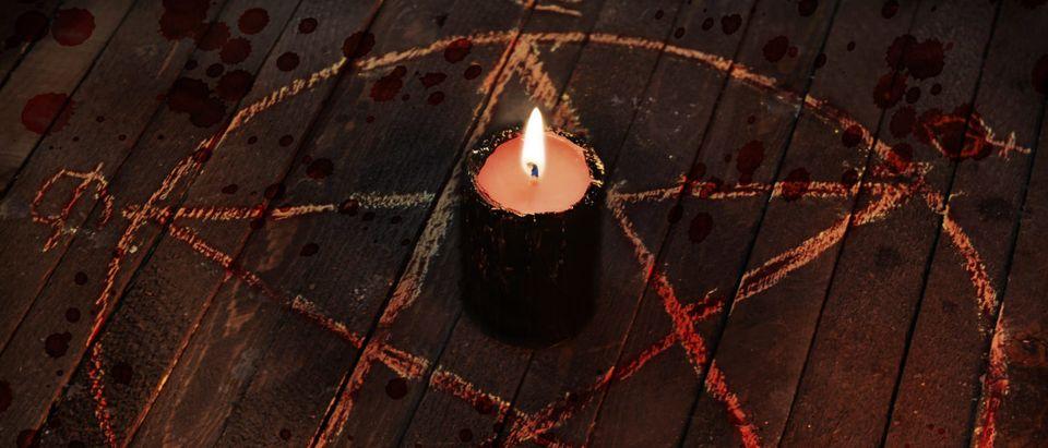 Satanic Ritual (Shutterstock/Vera Petruk)