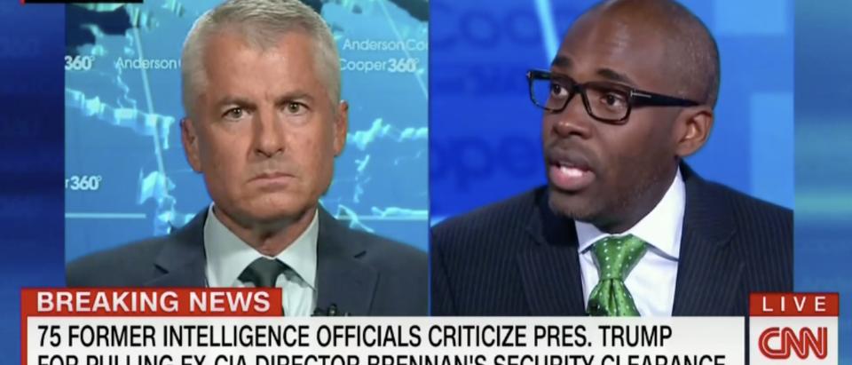 Dennard and Mudd fight over Brennan (CNN 8/17/2018)