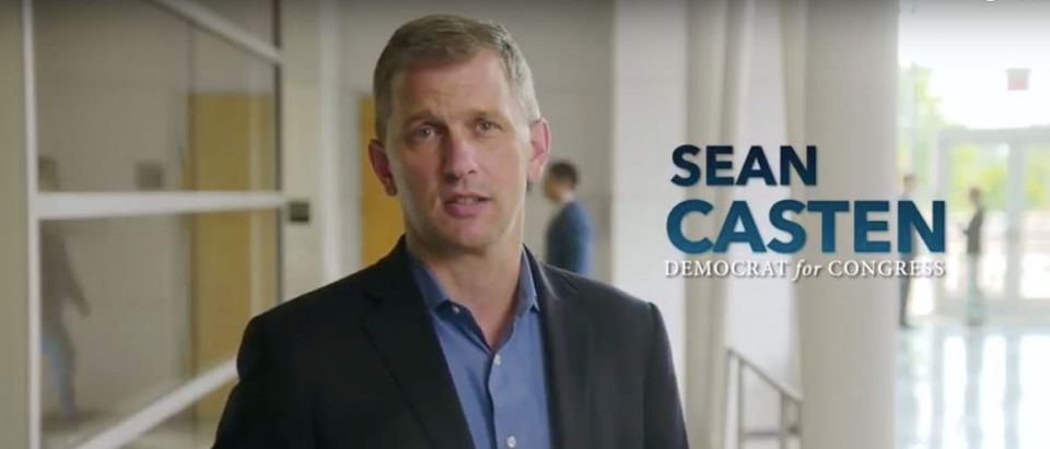 Democratic candidate Sean Casten (Youtube Screenshot: August 30, 2018)