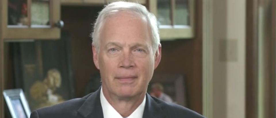 Sen Ron Johnson discusses John Brennan Security clearance (Fox News screengrab)