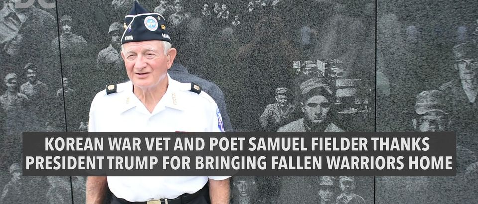 Korean War Vet Thanks Trump For Securing Remains of Fallen Troops from North Korea