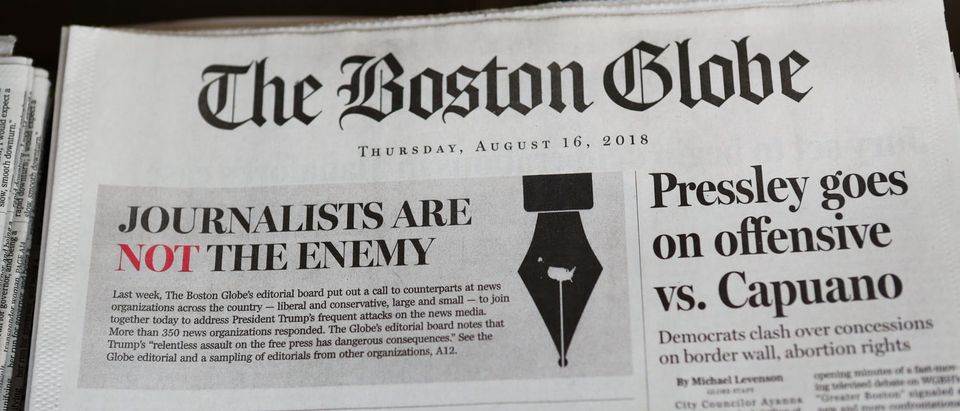 Boston Globe Leads Charge Among Newspapers' Concerted Defense Of Free Press In Wake Of President Trump's Rhetoric Against Press