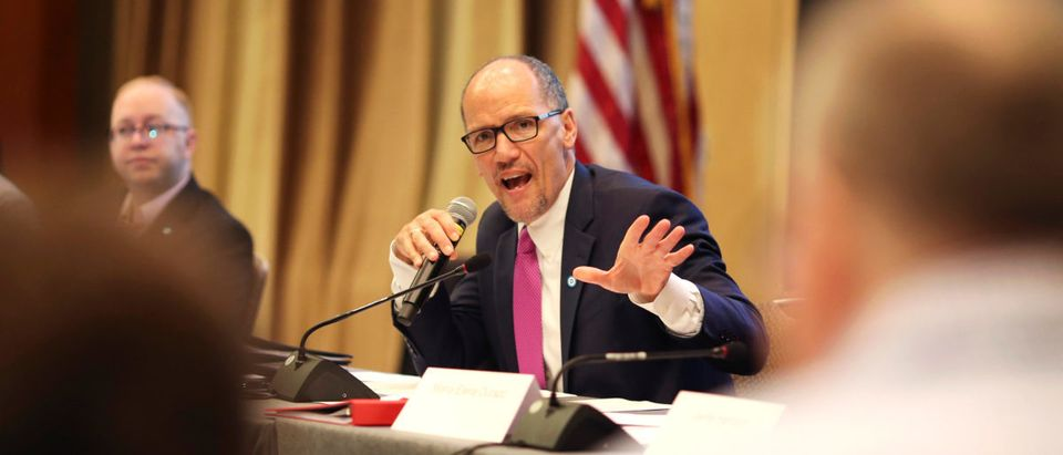 DNC Chair Tom Perez at the DNC Summer Meeting in Chicago