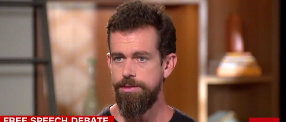 Twitter CEO Jack Dorsey admits platform is left-leaning (screengrab)