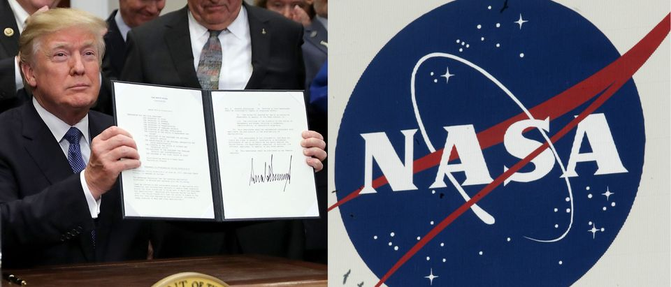 Trump moves toward bolder space exploration, Getty Images/ By NICHOLAS KAMM/AFP and