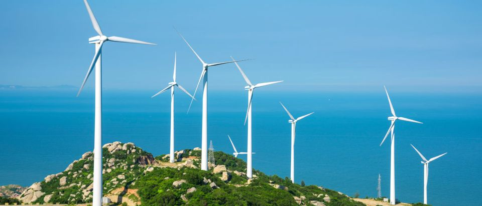 Growth in the wind energy sector is expected to decline as subsidies are scaled back. Shutterstock